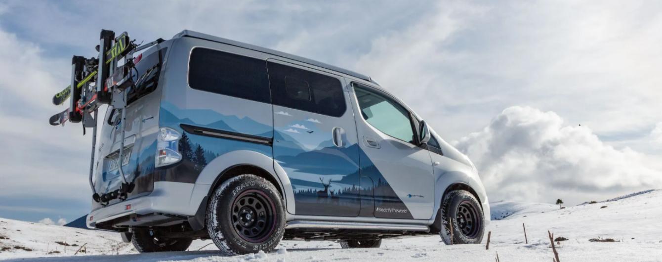 Nissan презентував електричний кемпер для зимового відпочинку