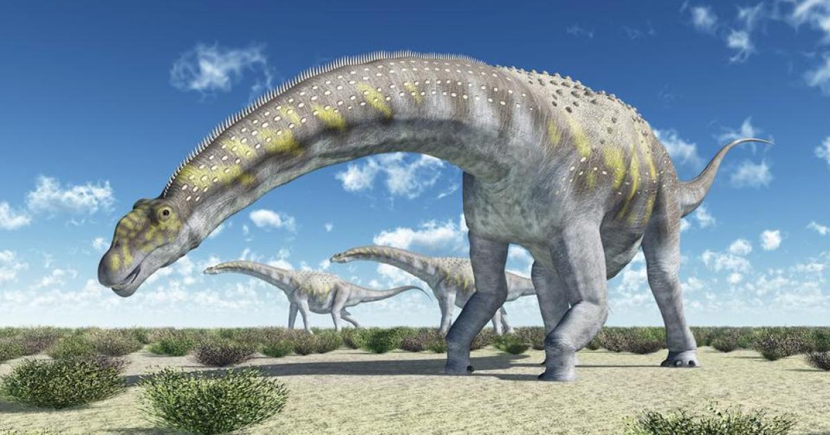 Ученые нашли останки динозавра, который был самым большим животным на Земле