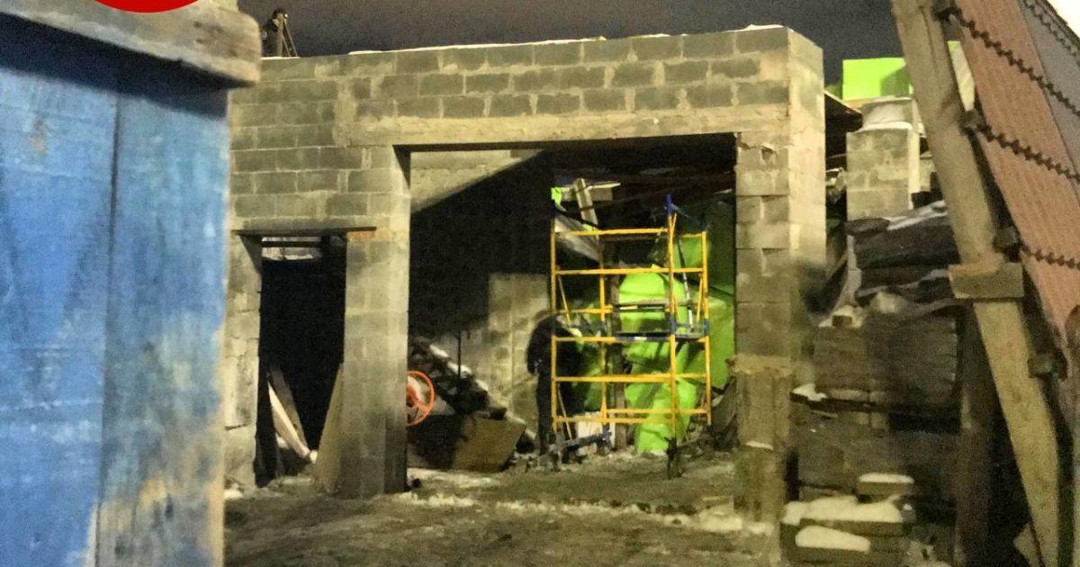 Обвал на будівництві у Києві: інформація про потерпілих уточнюється