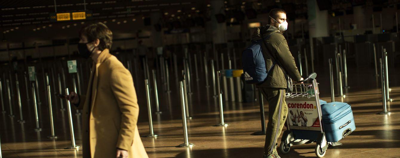 В Бельгии гражданам запретили выезжать на отдых за границу до марта