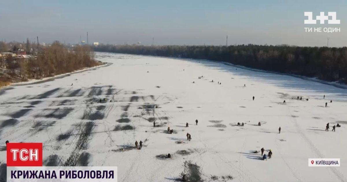 Українські водойми переповнені рибалками на кризі: про що попереджають рятувальники