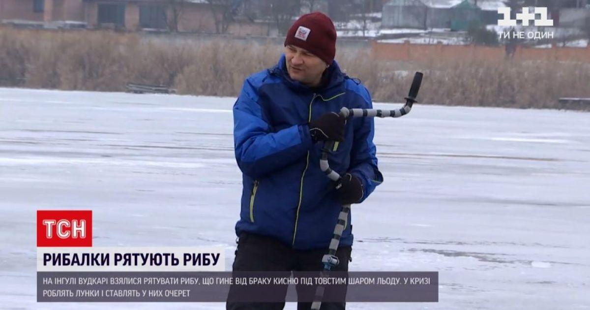 У Кропивницькому рятували рибу від браку кисню: що сталося