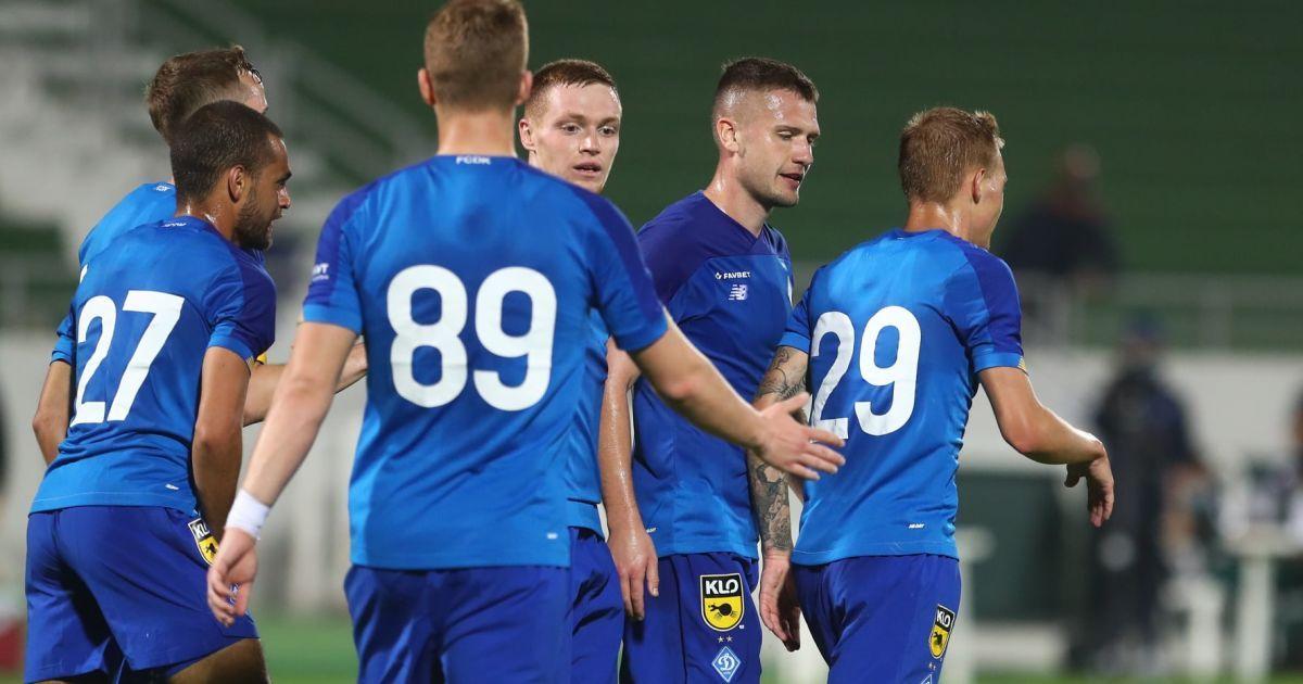 Динамо - сборная Иордании - 0:0: видео контрольного матча