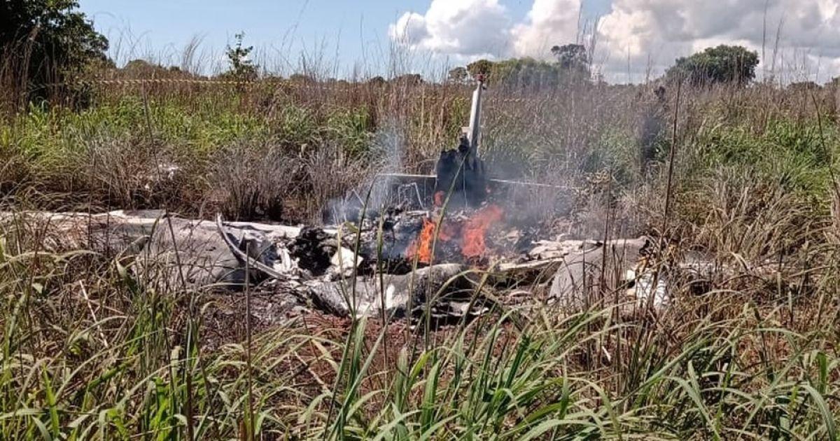 В Бразилии разбился самолет футбольного клуба: все пассажиры и пилот погибли