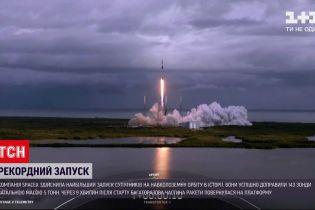 Компания Илона Маска доставила 143 спутника на околоземную орбиту