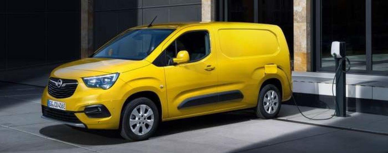 Opel офіційно презентував легкий електричний фургон: фото
