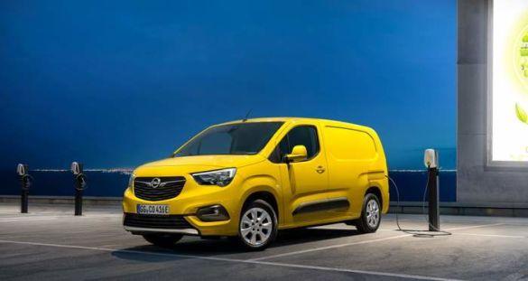 Opel Combo, електричний фургон