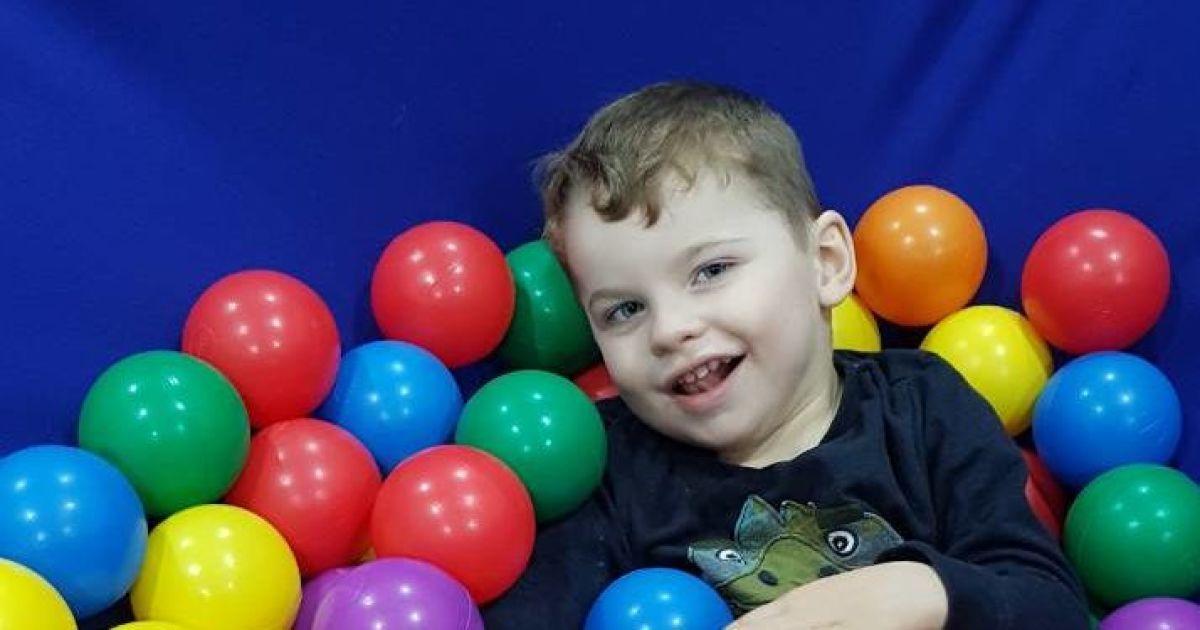 4-річний Владик потребує вашої допомоги