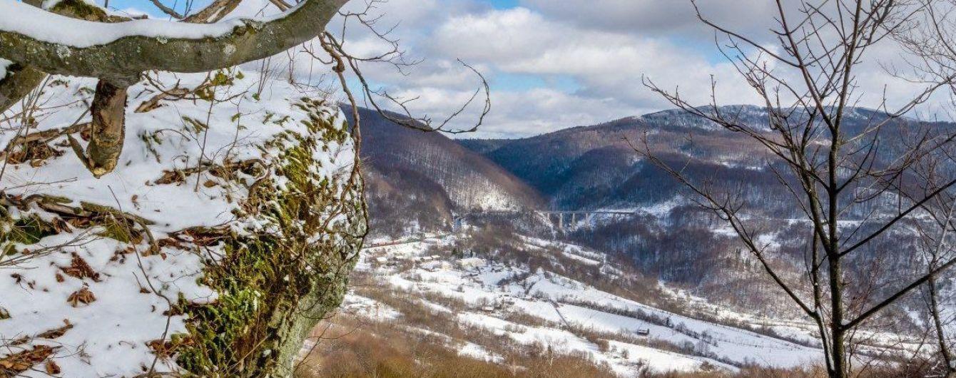 Карпати засипає снігом: опубліковано атмосферне фото