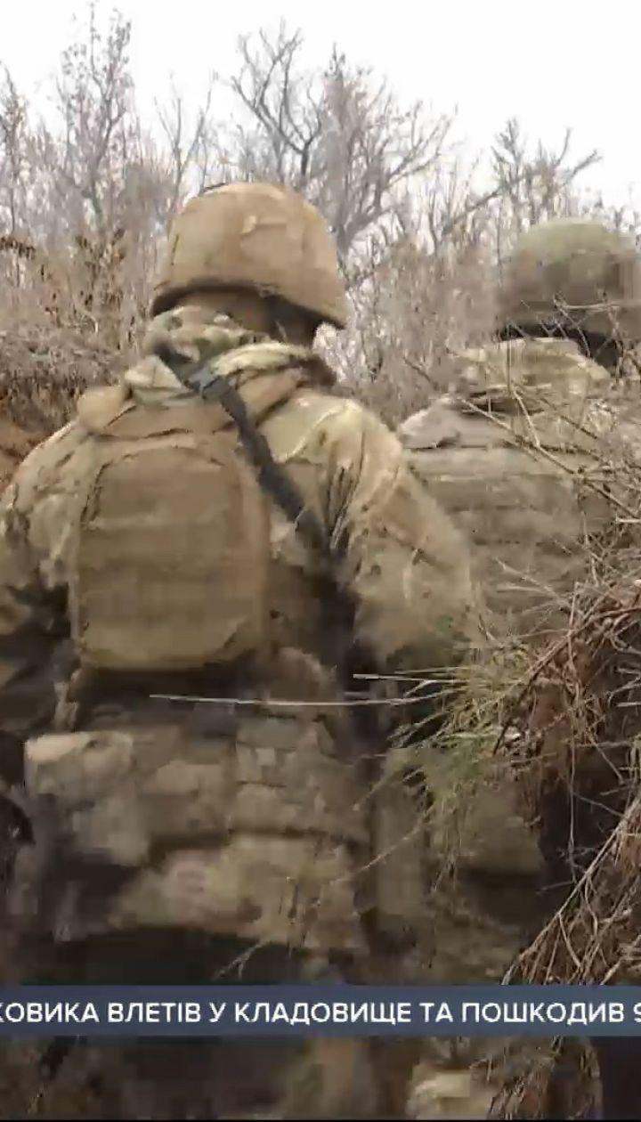 Тяжелое ранение получил боец на Донбассе