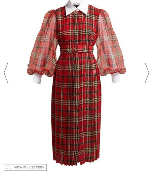 Платье Emilia Wickstead