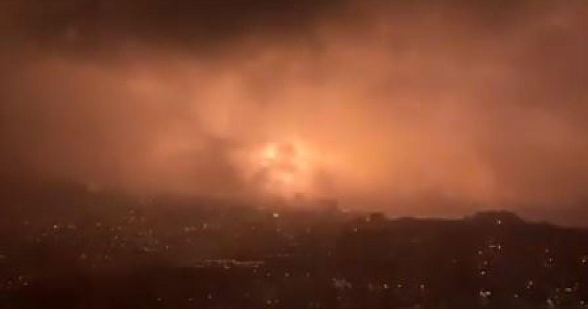 Оккупированная Ялта осталась без света после зрелищной аварии на электроподстанции