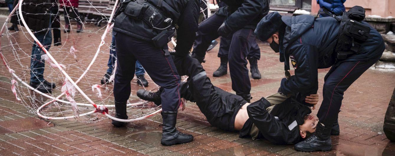 Митинги в поддержку Навального: в Кремле сравнили часть протестующих с террористами