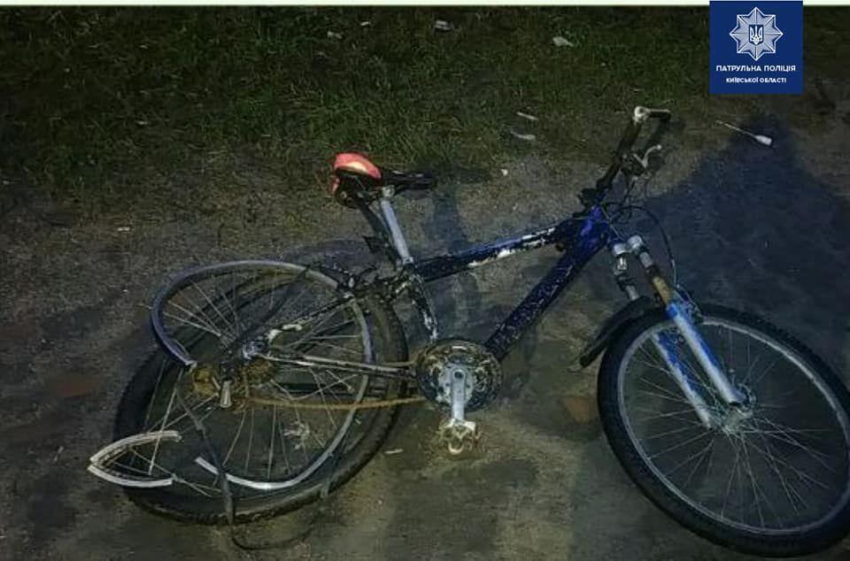 У Вишневому вантажівка збила велосипедиста