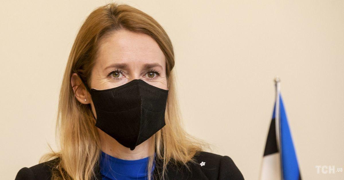 В элегантном костюме и с цветами: новым премьер-министр Эстонии Кая Каллас приняла присягу