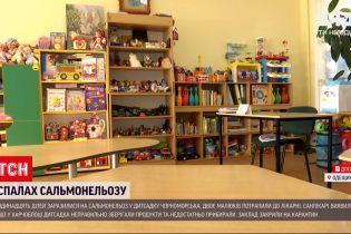 В Одесской области одиннадцать детей заразились сальмонеллезом в детском саду