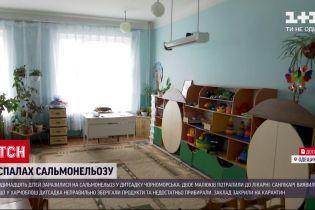 У дитсадку в Чорноморську стався спалах сальмонельозу