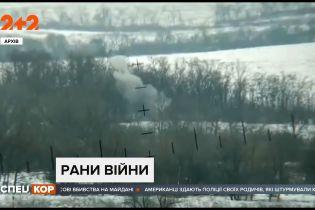 Боевики обстреляли позиции украинских военных в районе Новоалександровки