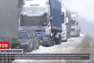 Сніговий полон: як погода впливає на ситуацію в Одесі та Києві
