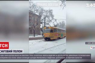 Наслідки негоди: яка ситуація в Одеській області