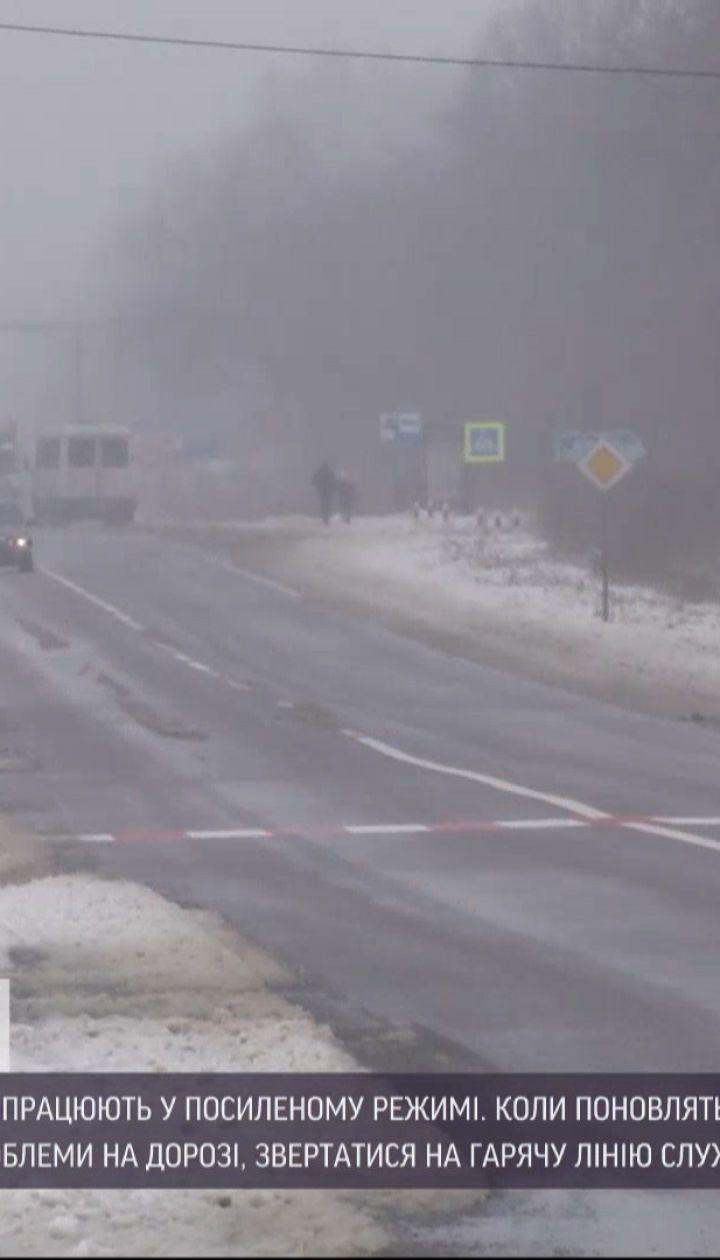 ТСН собрала дорожные маршруты, где действуют ограничения из-за непогоды
