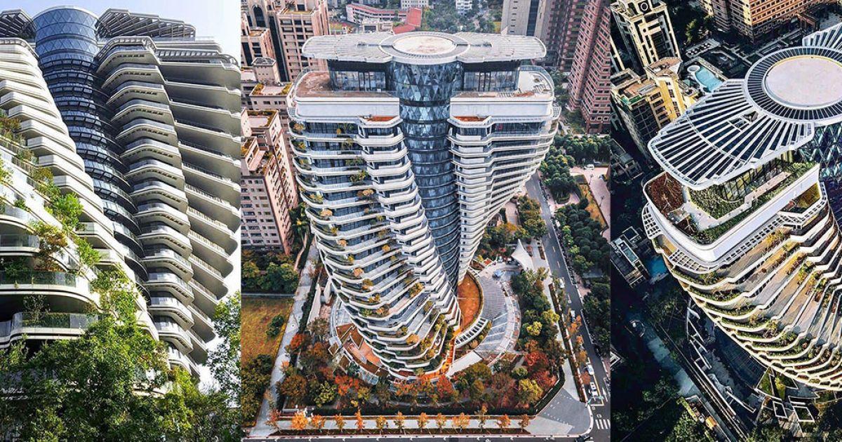 На Тайване построен уникальный эконебоскреб, который будет поглощать до 130 тонн углекислого газа ежегодно