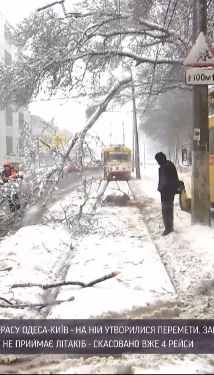 Снегопады в Одесской области: изменилась ли ситуация в регионе