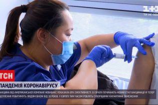 Нова вакцина від коронавірусу показала 89% ефективності