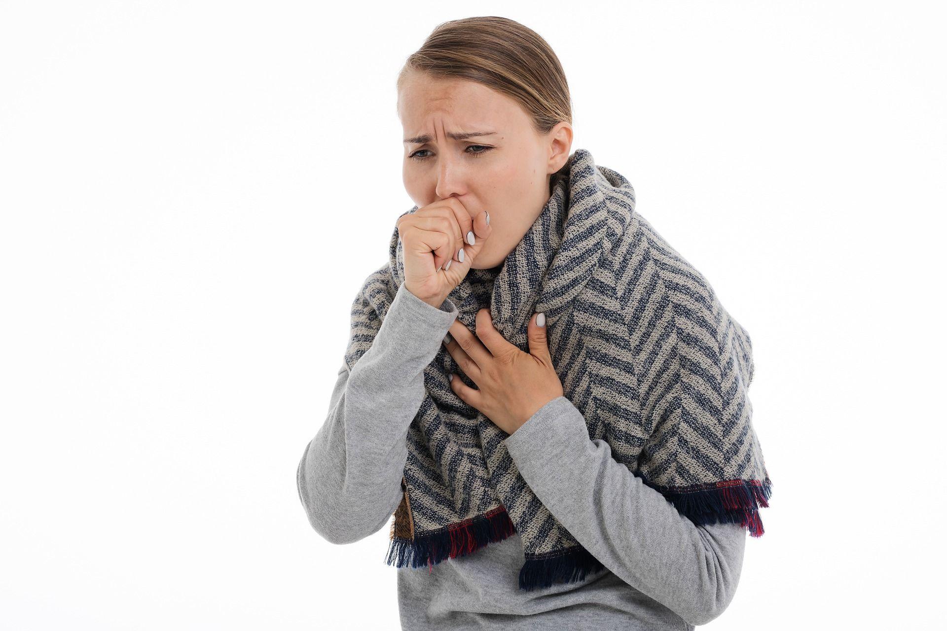кашель, застуда, коронавірус