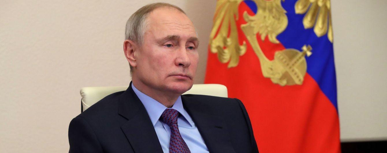 Путін оголосив ультиматум Зеленському щодо зустрічі та назвав можливе місце