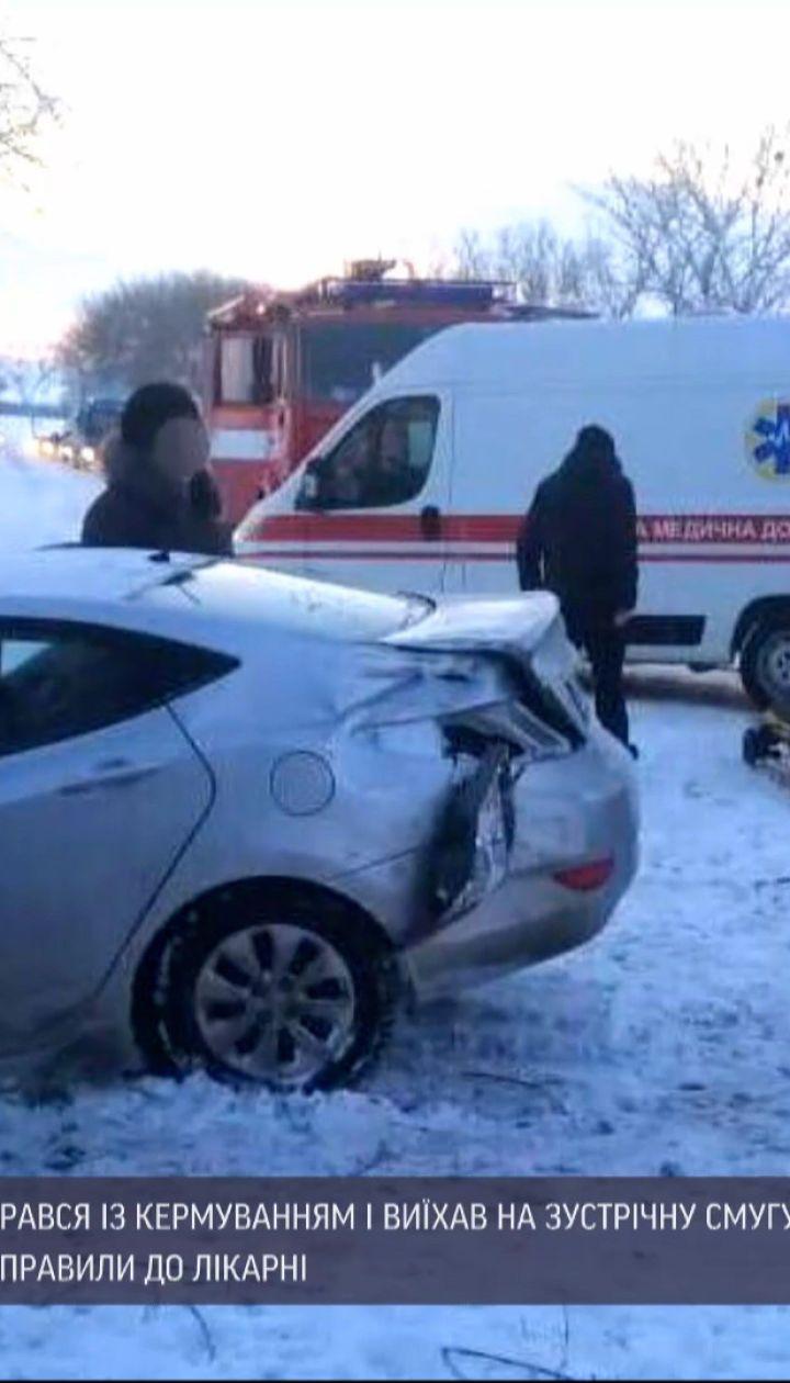 Под Переяславом в результате ДТП погиб один человек, пятеро - в больнице
