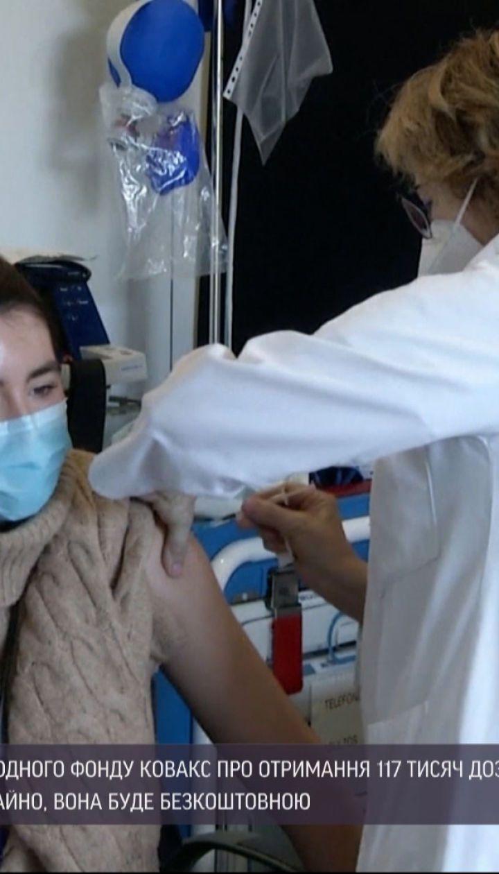 """Минздрав получил подтверждение от фонда """"Ковакс"""" касаемо вакцин, которые поступят в Украину"""