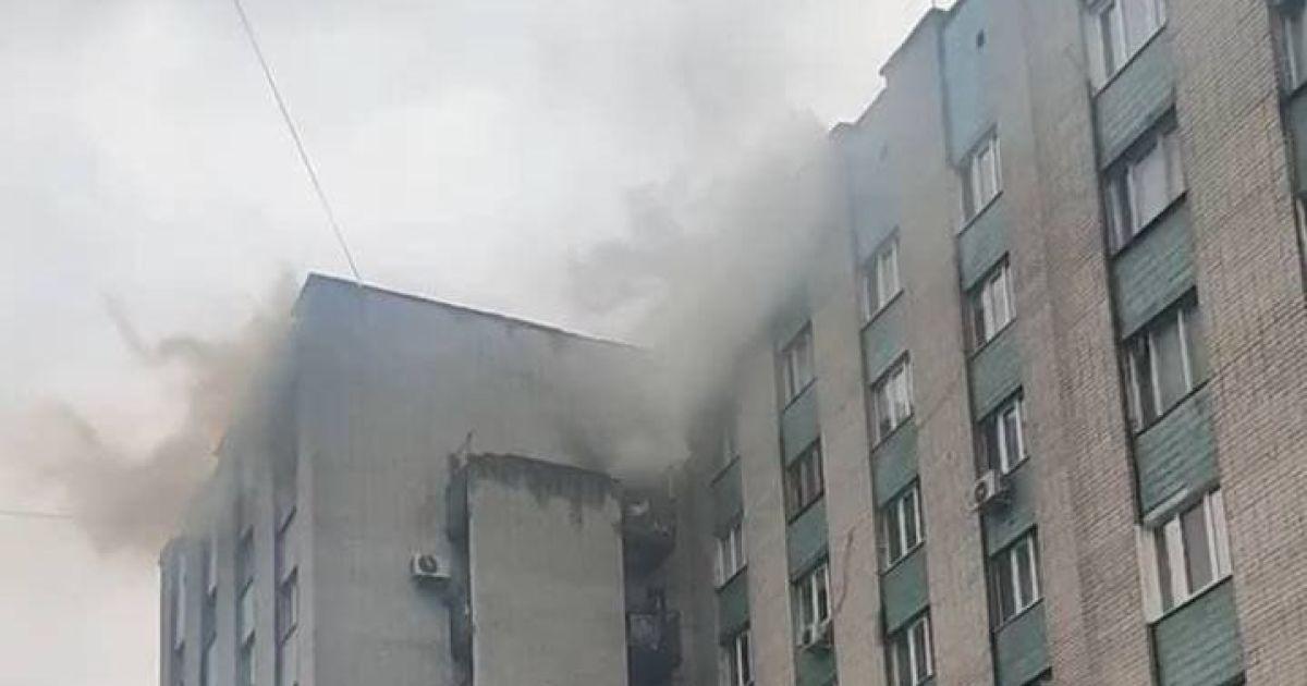 В Харькове загорелась квартира на девятом этаже многоэтажки: погиб владелец жилья
