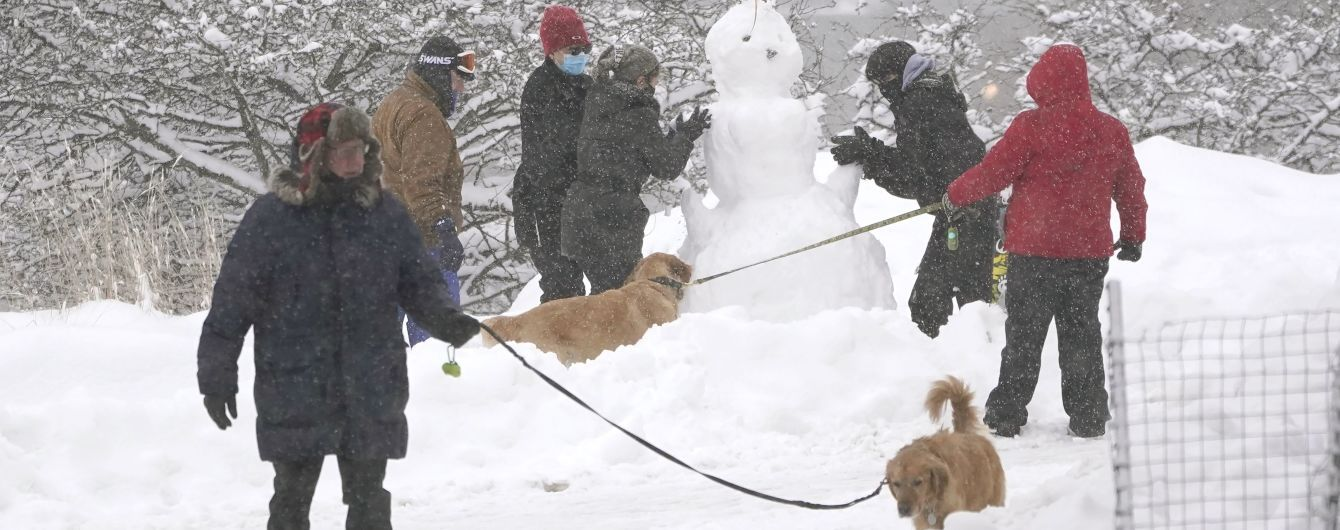 Прогноз погоды на 1 февраля: в Украине похолодает, будут снегопады и ливни