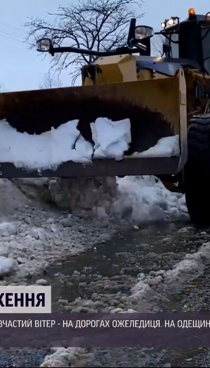 Последствия непогоды: за утро в Харькове произошло два ДТП