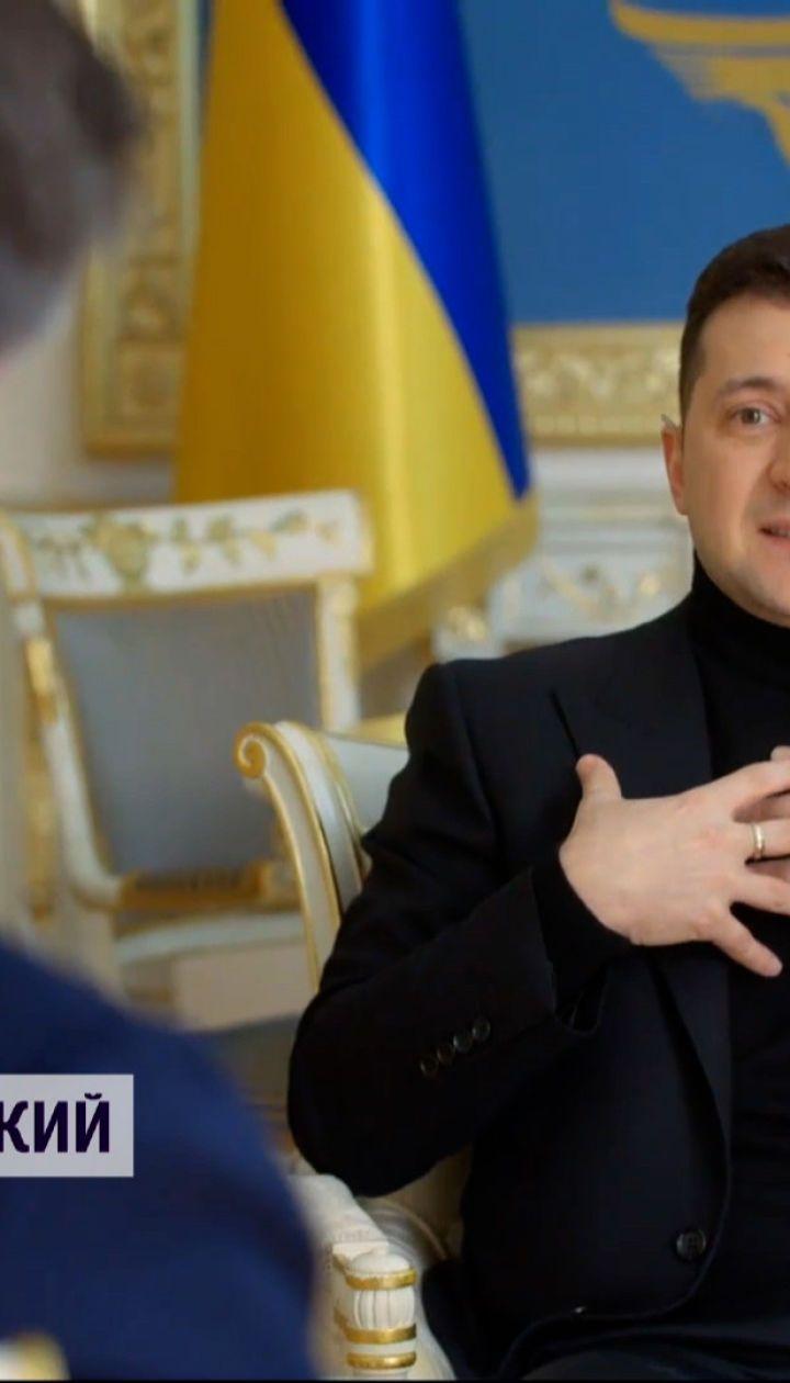 Интервью Президента на НВО: чего ожидает Зеленский от США