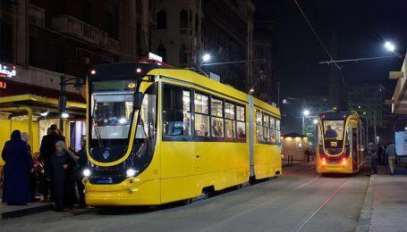 Українські трамваї у Єгипті: вагони з Дніпра вирушили перевозити пасажирів арабської республіки