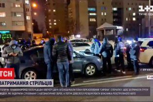 В Киеве группа людей устроила стрельбу из автоматического оружия, но пострадавший все отрицает