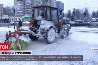 Метель в Винницкой области: в регионе объявлен первый уровень опасности