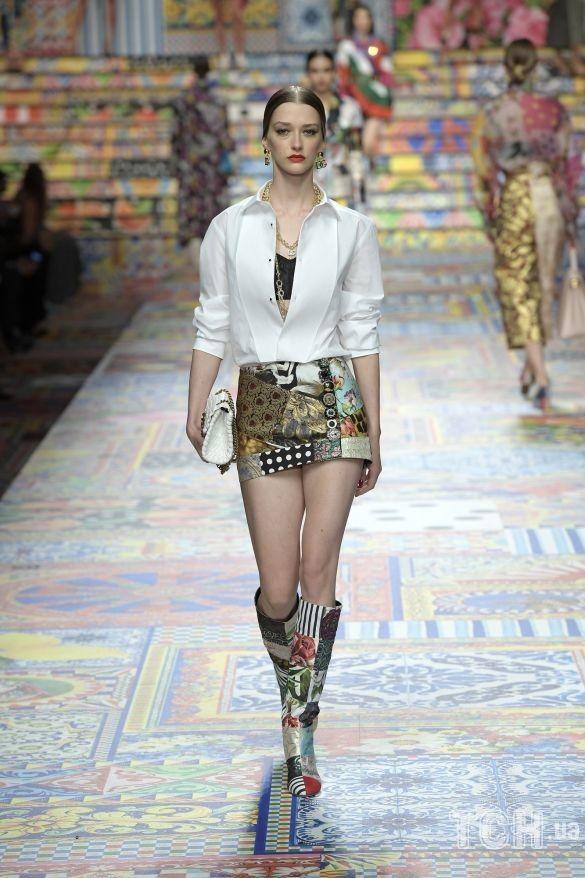 Коллекция Dolce & Gabbana прет-а-порте сезона весна-лето 2021_15