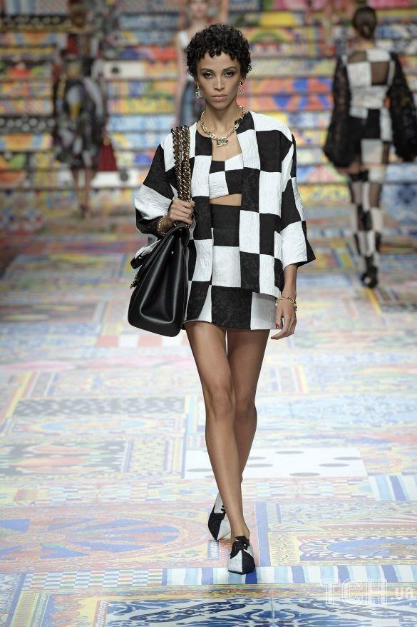 Коллекция Dolce & Gabbana прет-а-порте сезона весна-лето 2021_29