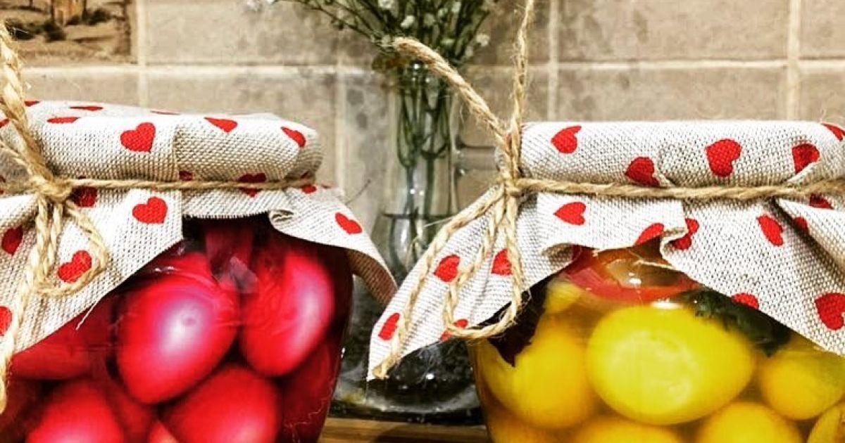 Мариновані перепелині яйця: по-перше, це красиво
