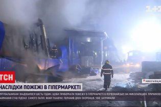Пожар в Первомайске: спасатели 6 часов тушили огонь в гипермаркете
