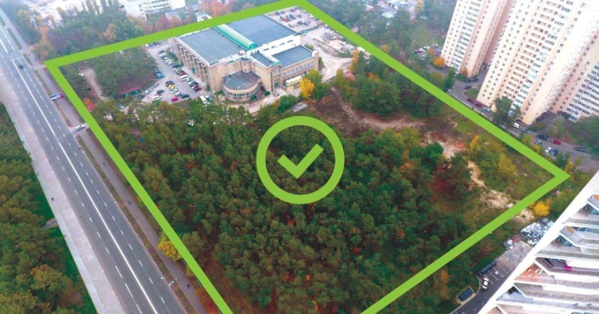 Полностью уничтожен парк — архитектурное бюро опубликовало видео проекта ЖК в Киеве на Жмаченко, 20