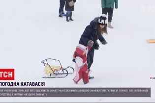 Погода снова удивляет: будут ли в Украине еще холодные снежные зимы