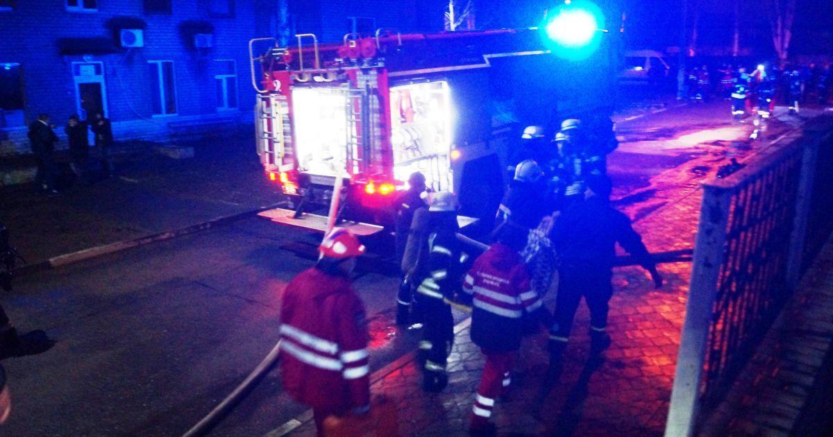 Пожар в больнице Запорожья: задержан ответственный за противопожарную безопасность