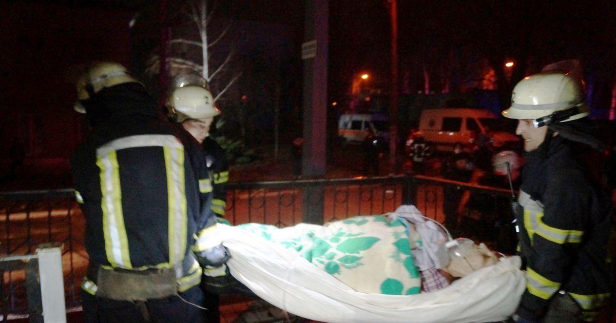 Стан врятованих пацієнтів із пожежі в Запоріжжі значно погіршився