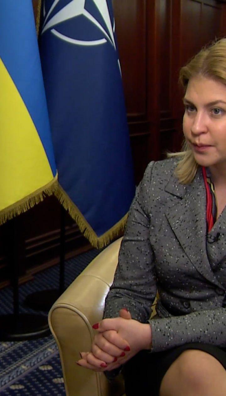 """""""Не секрет, что вакцинация - это новый безвиз"""": интервью с вице-премьером Ольгой Стефанишиной"""