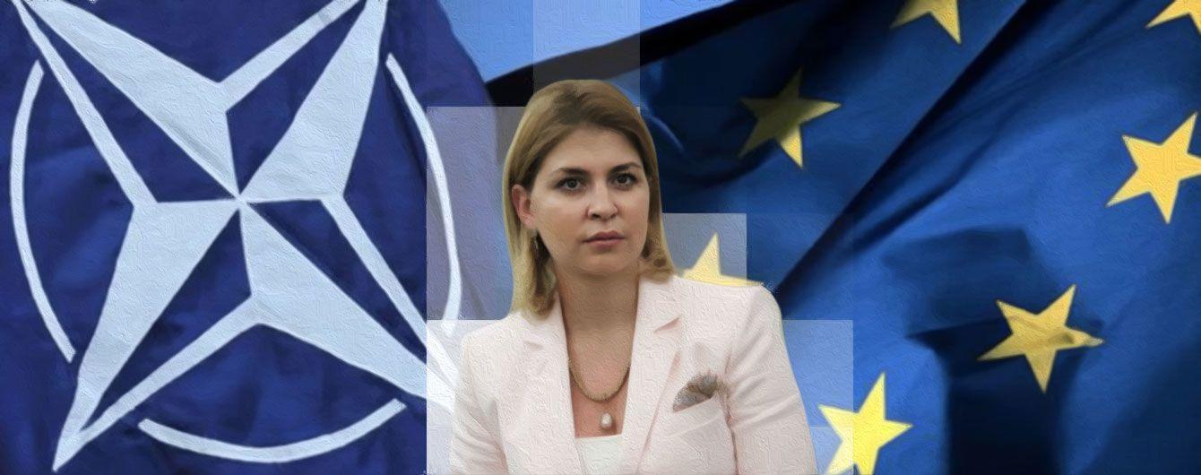 Процесс движения к членству в НАТО неидеальный, у нас нет розовых очков: интервью с вице-премьером Ольгой Стефанишиной