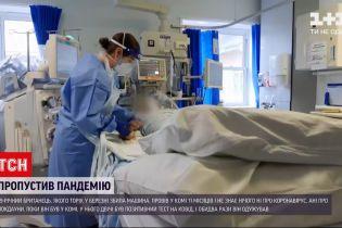 19-річний британець, перебуваючи в комі, двічі був хворий COVID-19